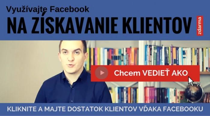facebook reklama viac klientov