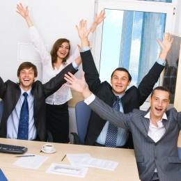 úspech šťastie biznis, šťastný a úspešný