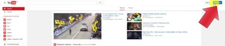 1-YouTube - prihlásenie