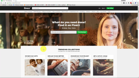 Fiverr-homepage