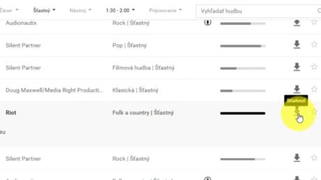 YouTube-Audio-kniznica-Stiahnuť