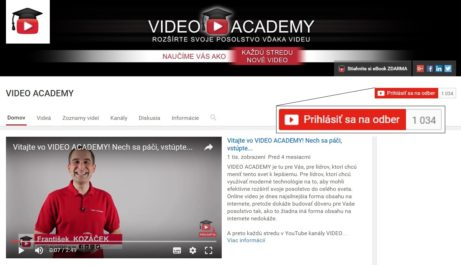 YouTube-kanal-Video Academy