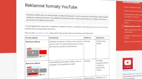 Zarabanie-Na-YouTube-Reklamné formáty